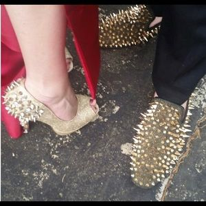 Shoes - Spikey heels and shoes(together or separate)